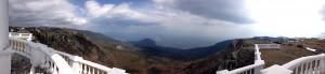 панорама с беседки ветров