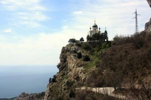 церковь крым трасса севастополь