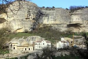 Успенский монастырь крым бахчисарай