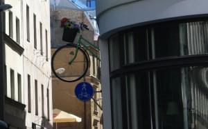 Велосипед из дома Рига