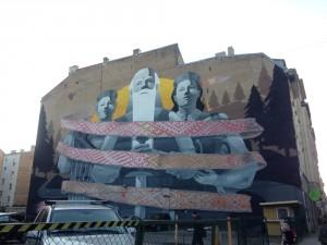 Граффити в РИге