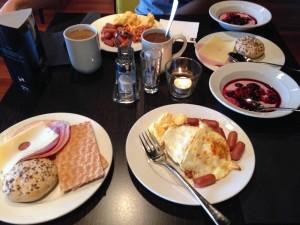 завтрак в ставангере