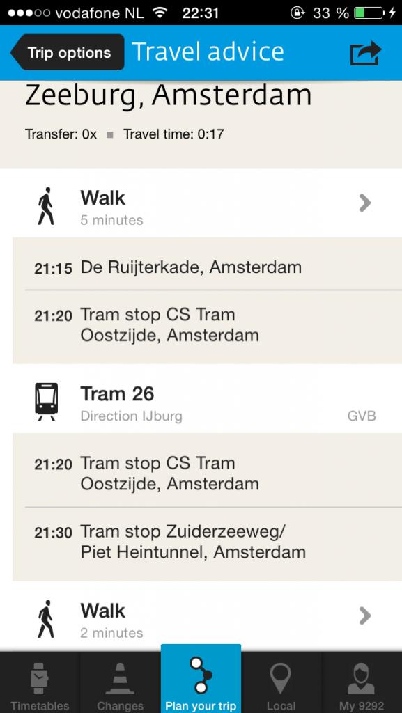 9292 как ориентироваться в Амстердаме