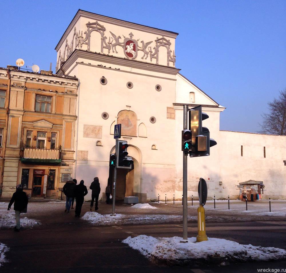 арка вход в старый город вильнюс