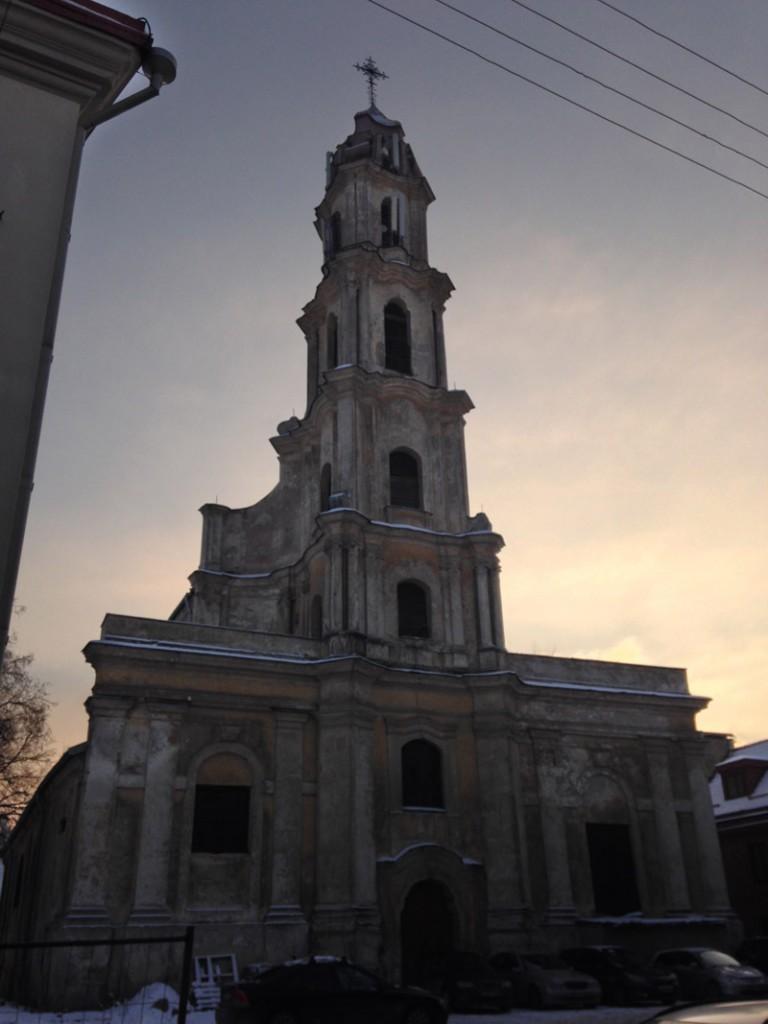 Вильнюс церковь