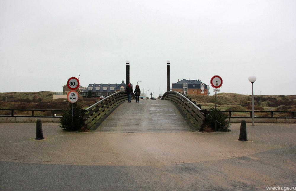 мост в de-koog
