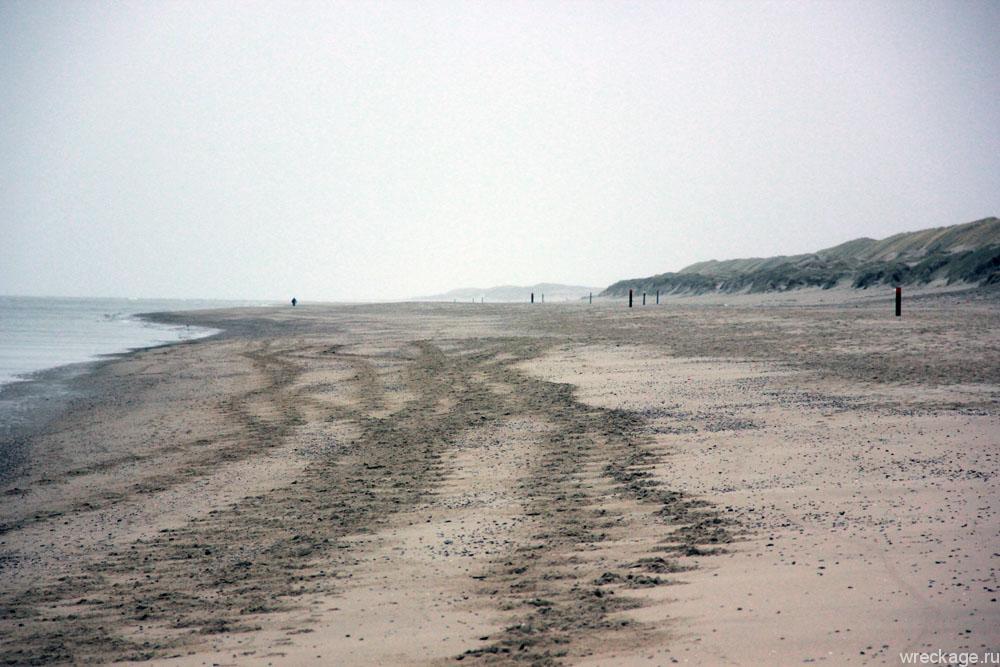 Пляж De-Koog