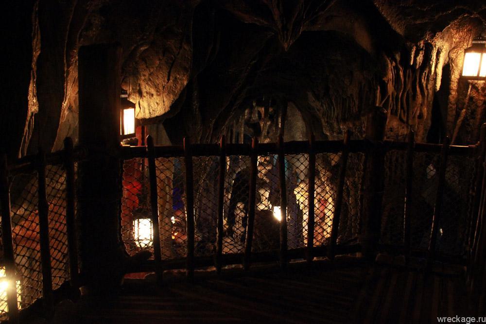 пещеры в диснейленде