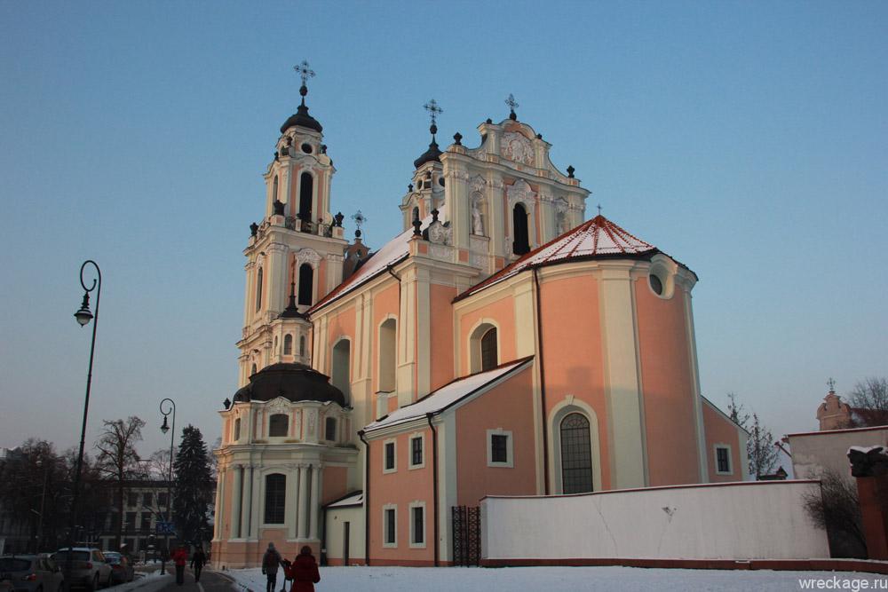 церковь Вильнюс литва