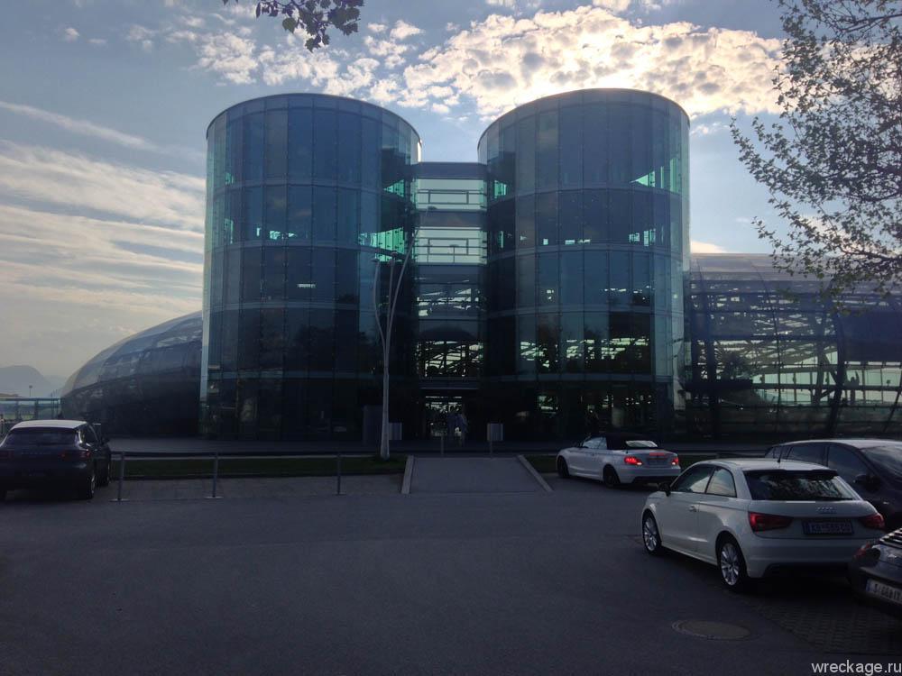 музей hangar 7 в зальцбурге