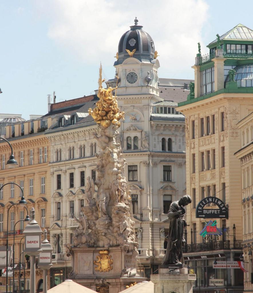 Чумная колонна Вена Австрия