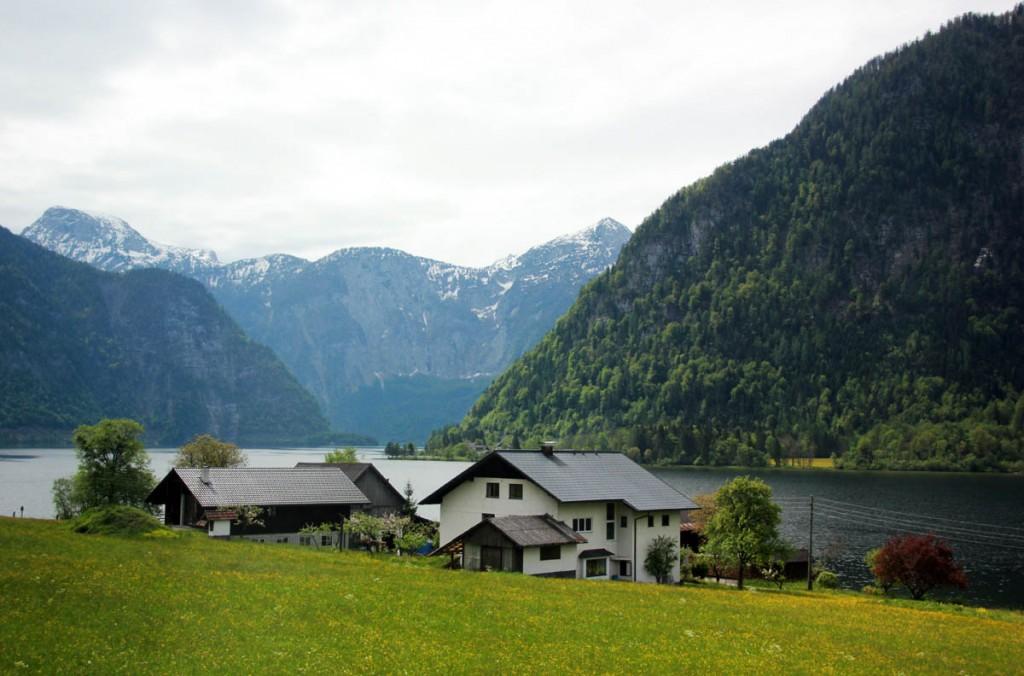 альпы обертраун, верхняя австрия
