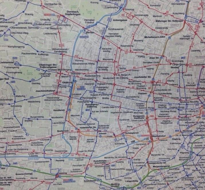 картам метров вены