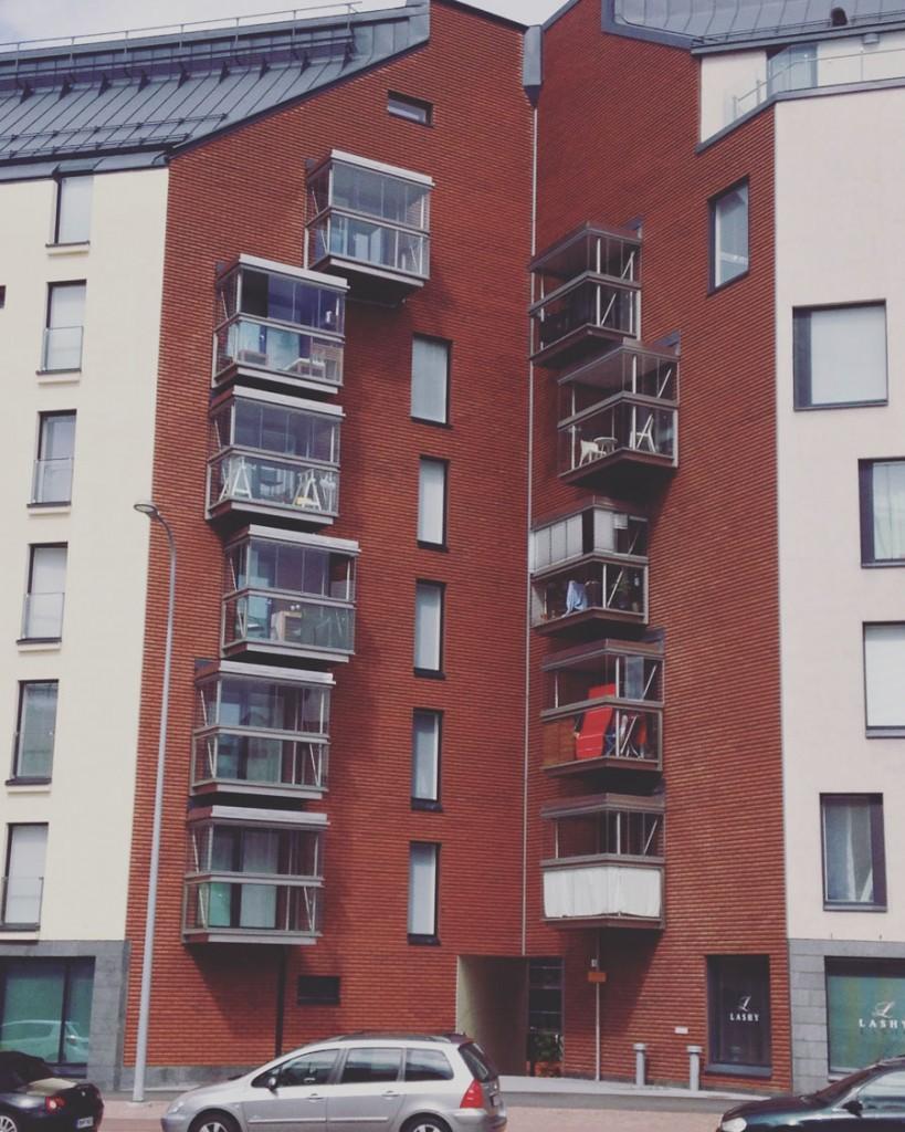 неровные балконы хельсинки