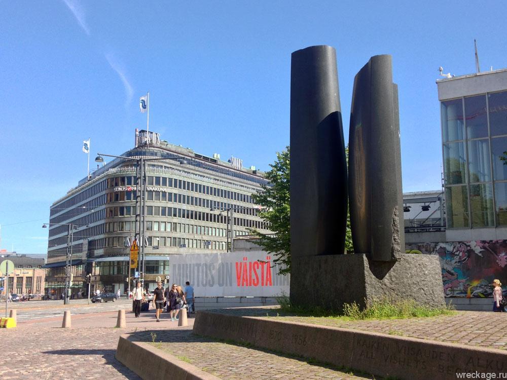 Переезжаем границу в Ваалимаа, едем до Хельсинки и гуляем по городу.