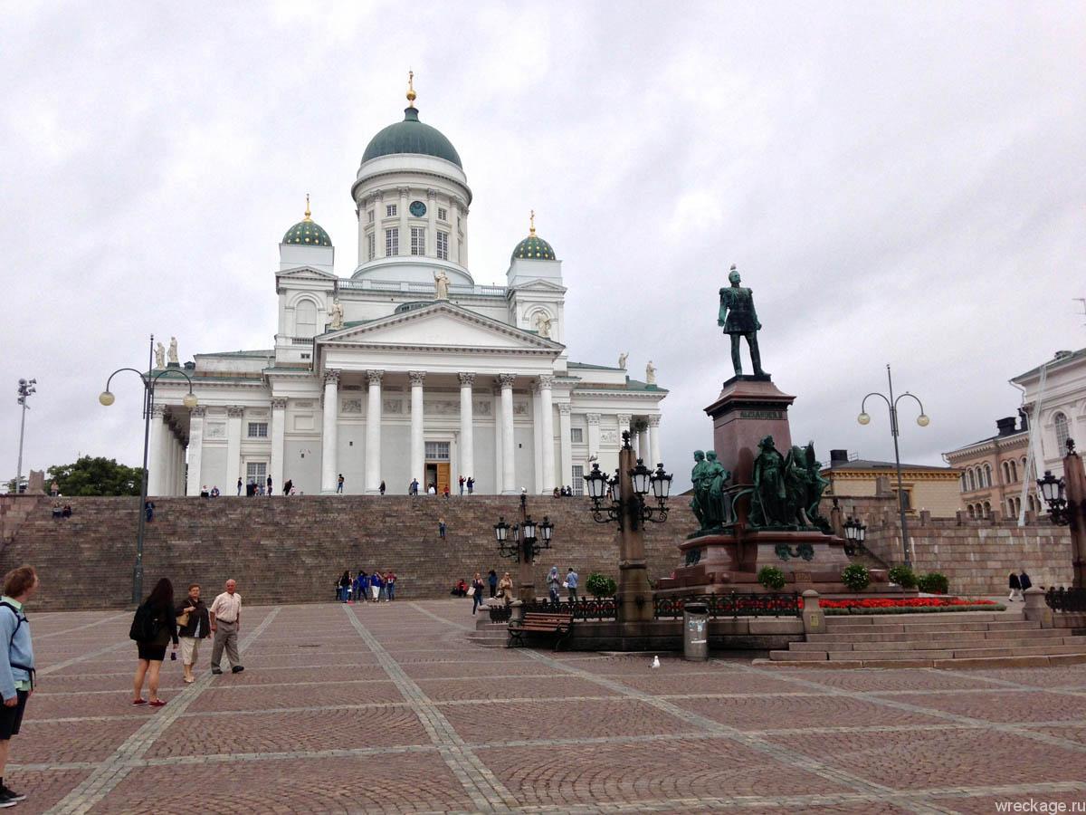 Хельсинки и дорога в Турку