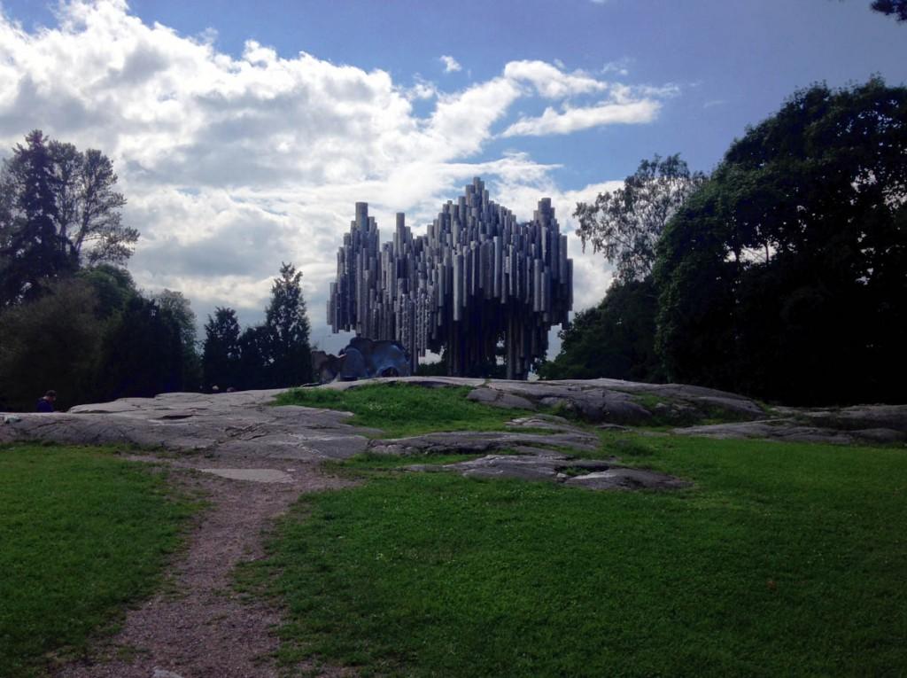 сибелиус в парке Хельсинки