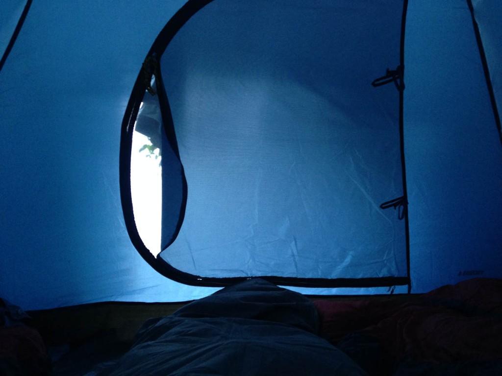 палатка в одде кемпинге