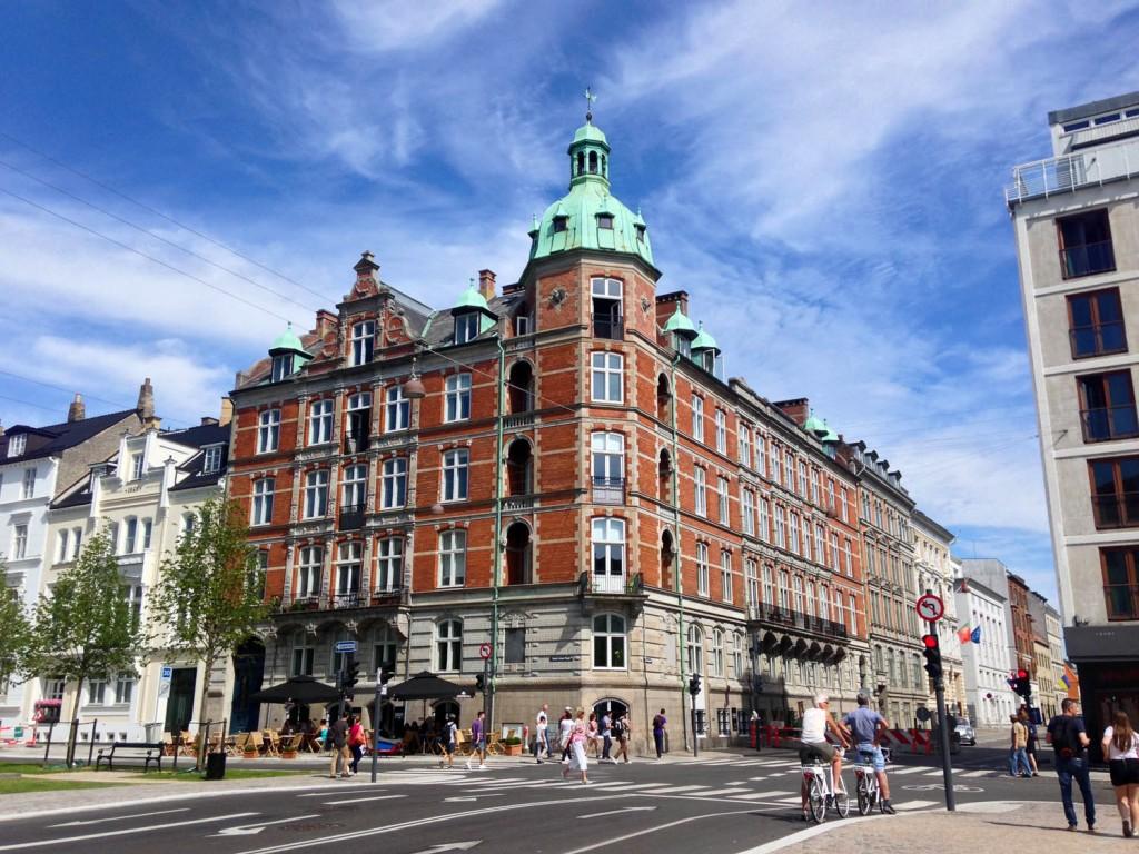 Копенгаген здания