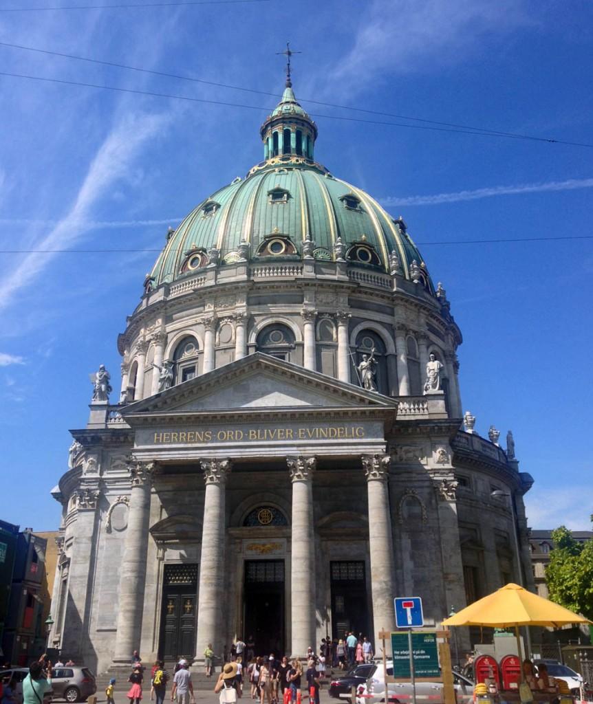 Церковь Фредерика мраморная
