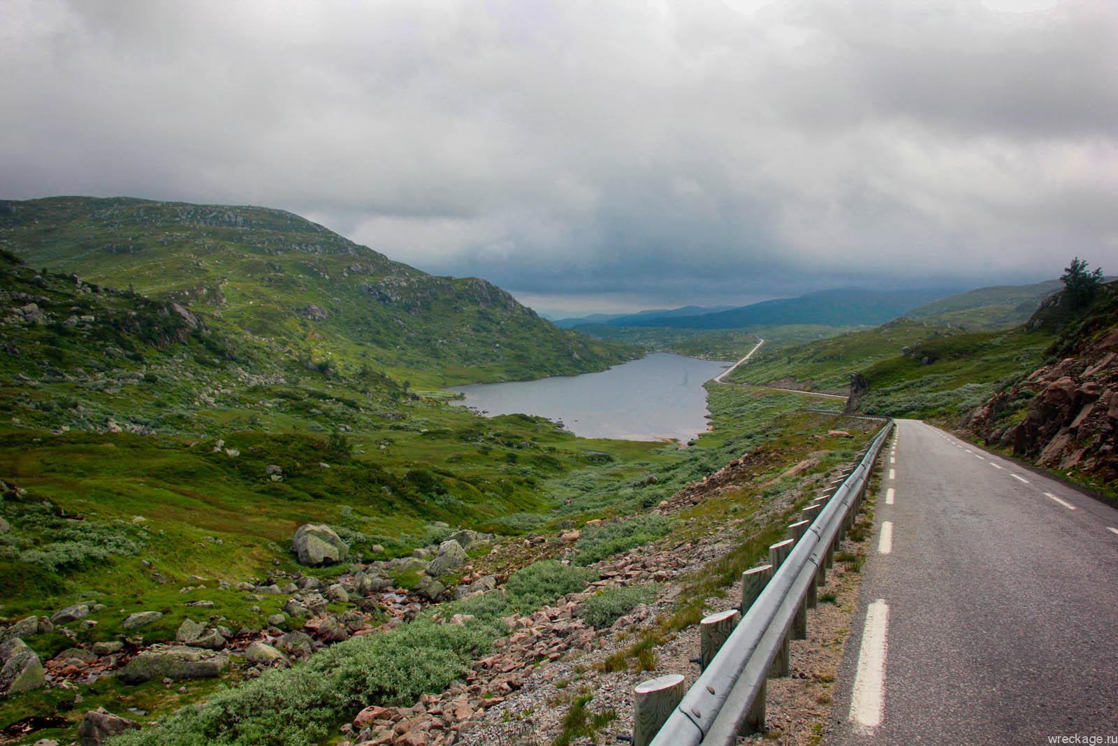 Криистиансанн в Норвегии. Едем транзитом через Швецию