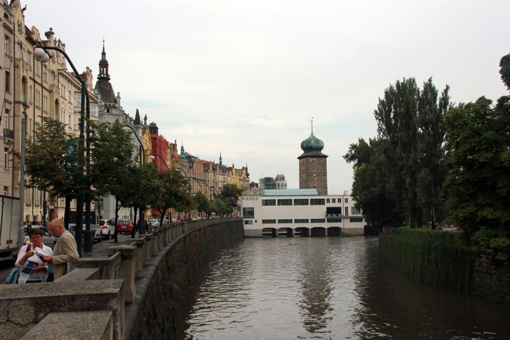поплавка набережная прага