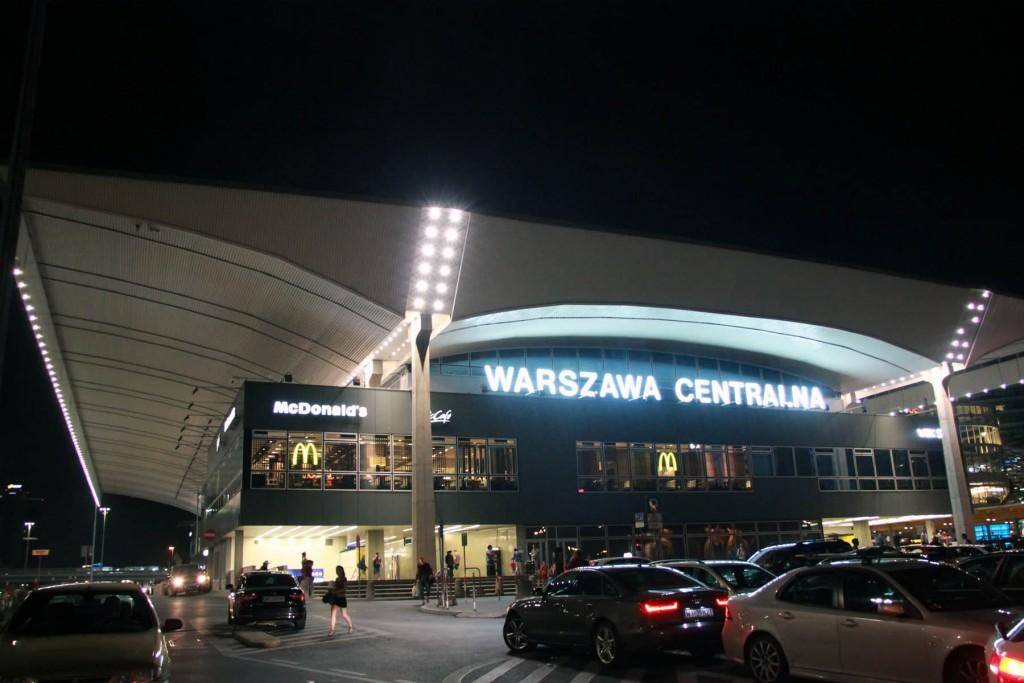 Центральный вокзал варшавы