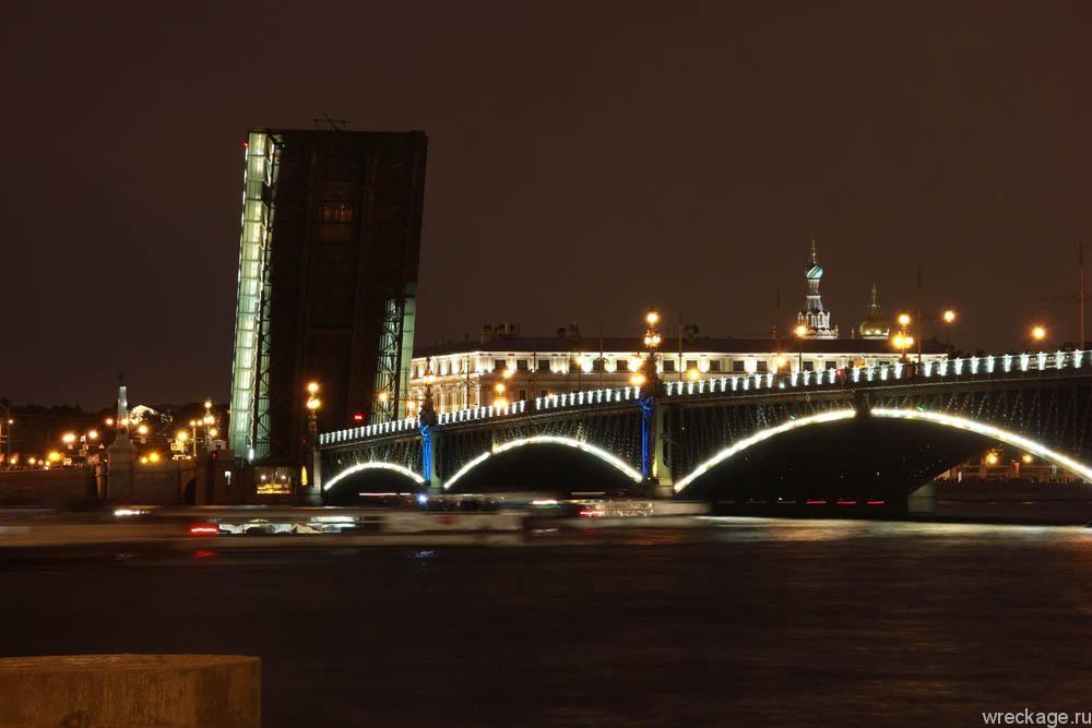 Разводка мостов в Питере