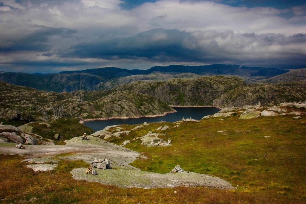 Норвегия район Lysebotn