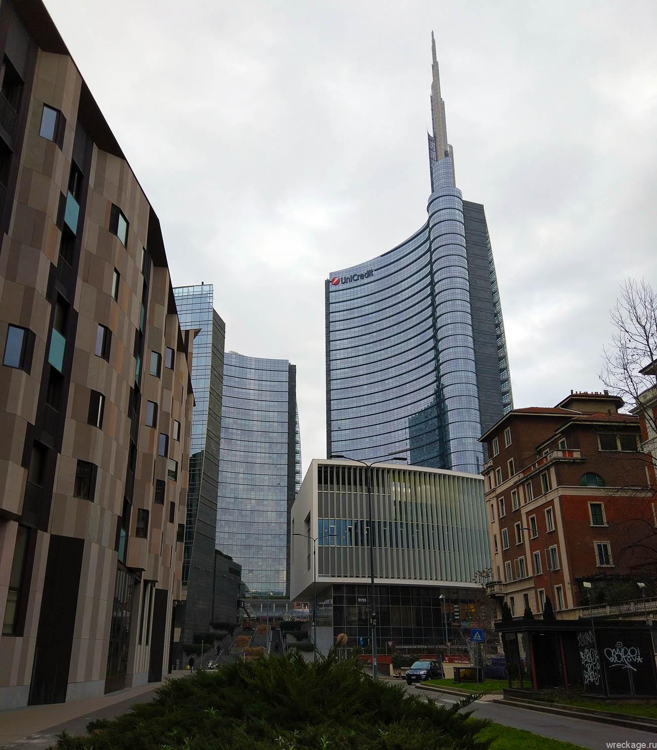 Башня UniCredit (Милан) - высочайшее здание