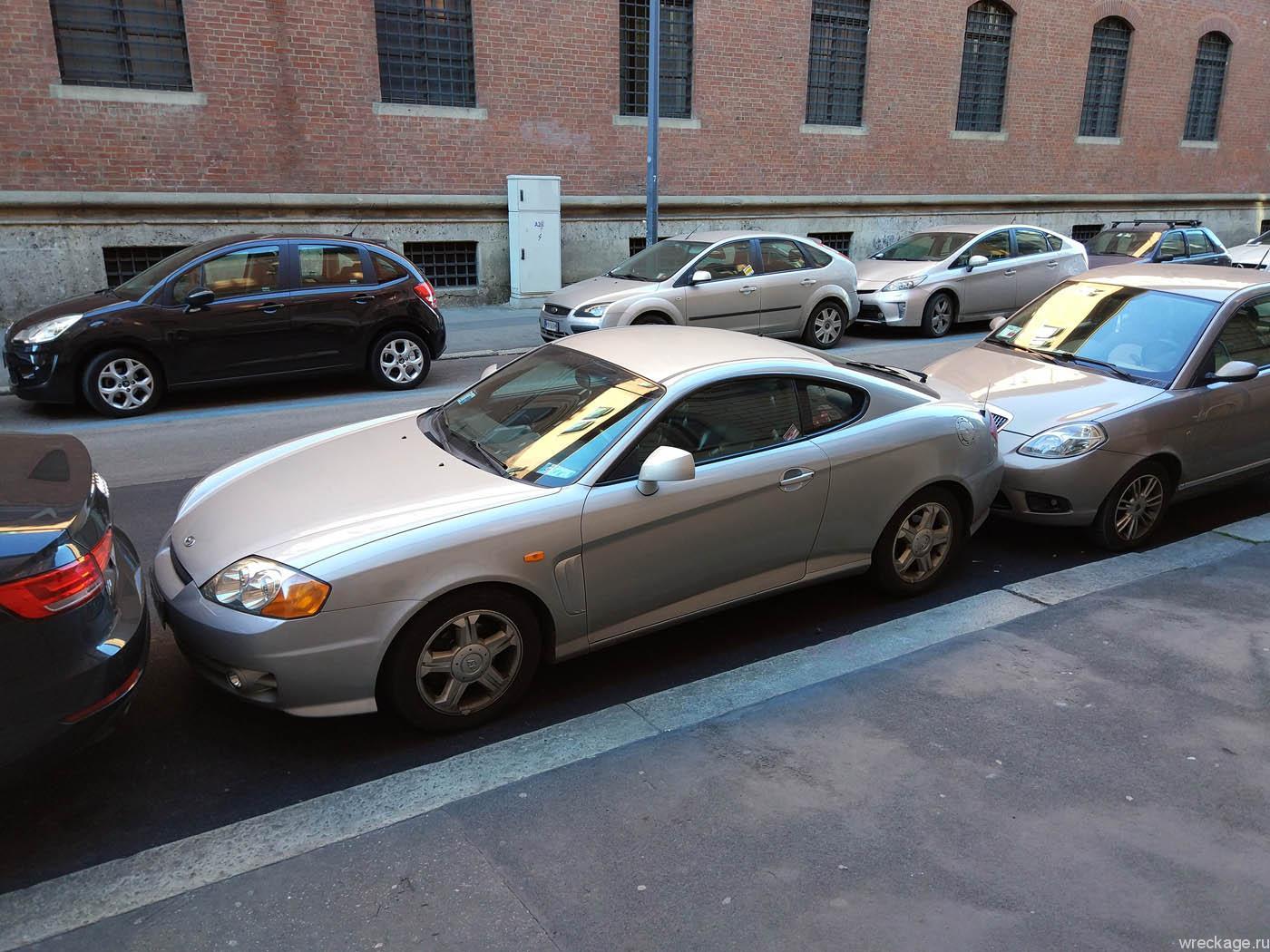 как парковаться в италии