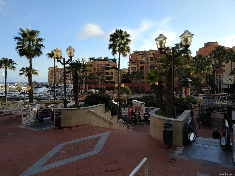 эскалаторы в монако