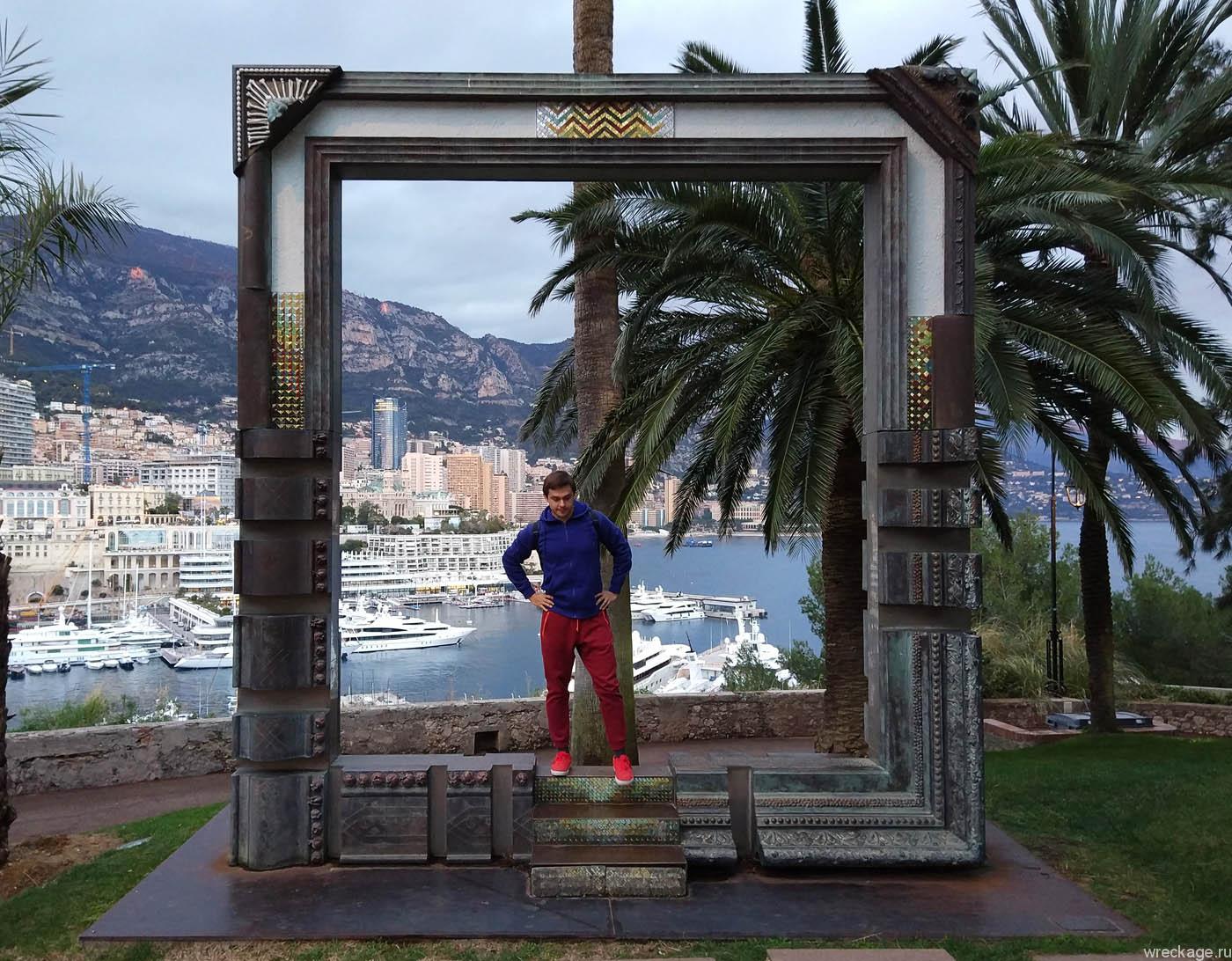 рамка для фото монако