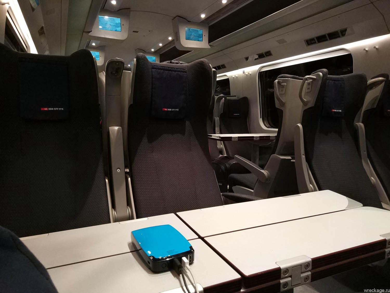 поезд лугано милан