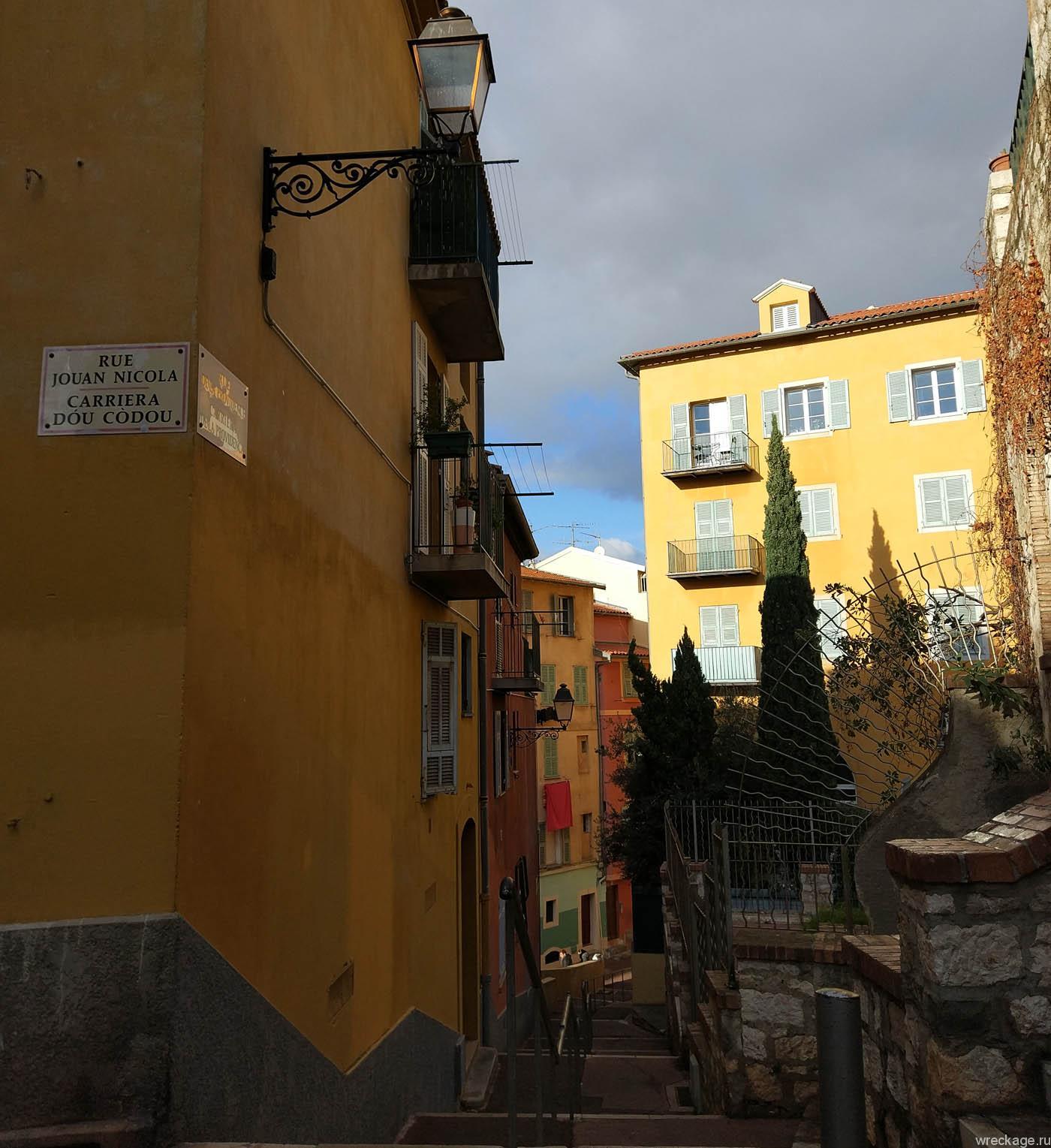 старый город ниццы