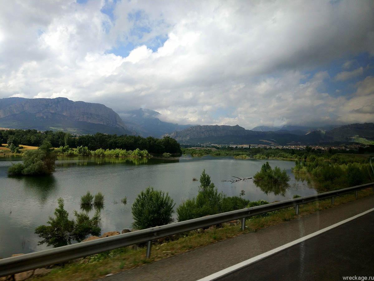 дорога в андорру из испании