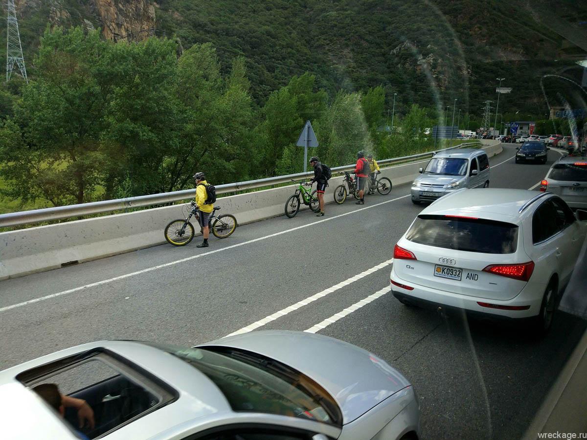 андорра номера и велосипедисты