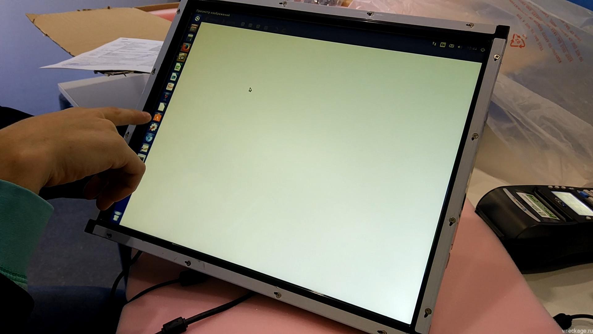Как сделать монитор из ноутбука сенсорным