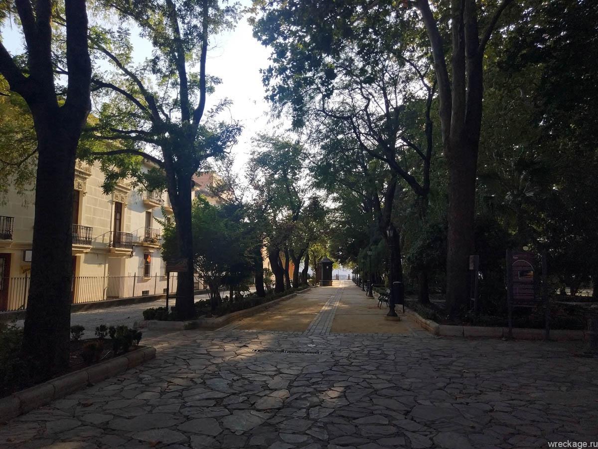 Парк Аламенда-дель-Тахо ронда