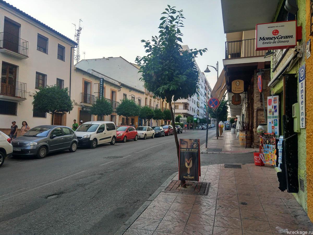 ронда испания улицы