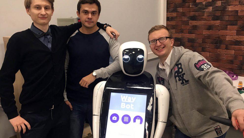 Собираем робота WayBot