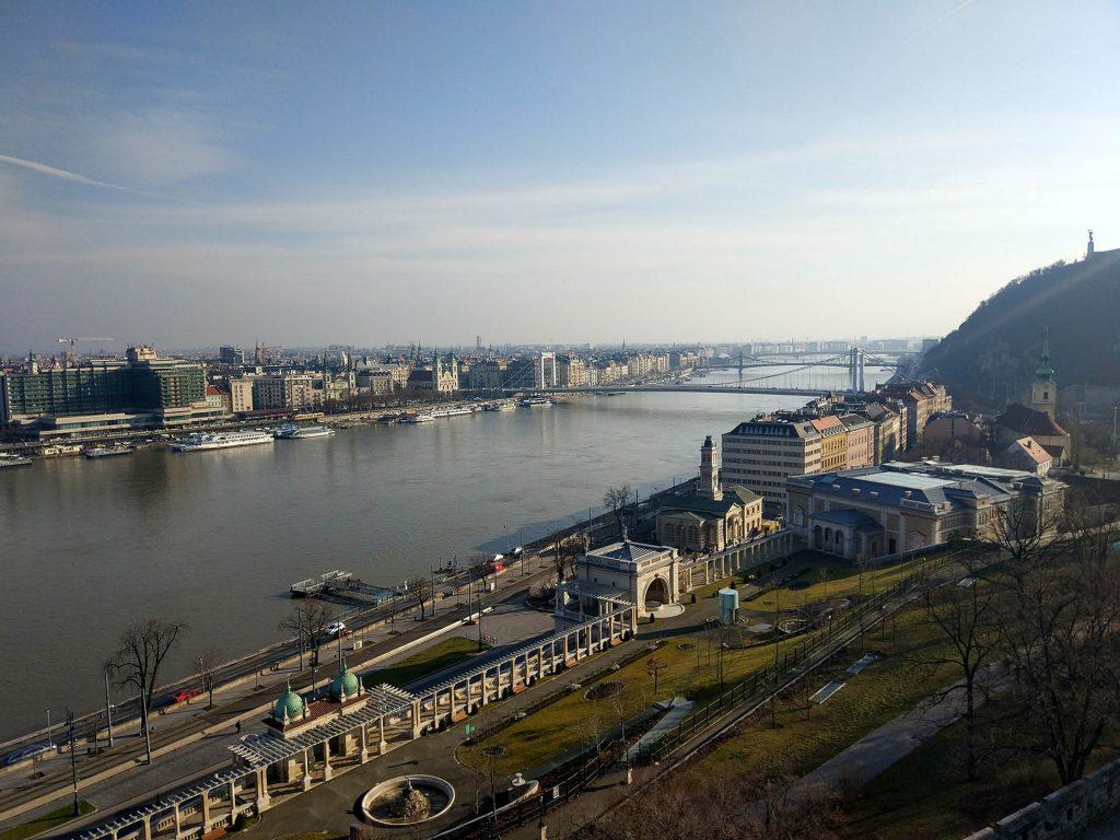 вид река будапешт