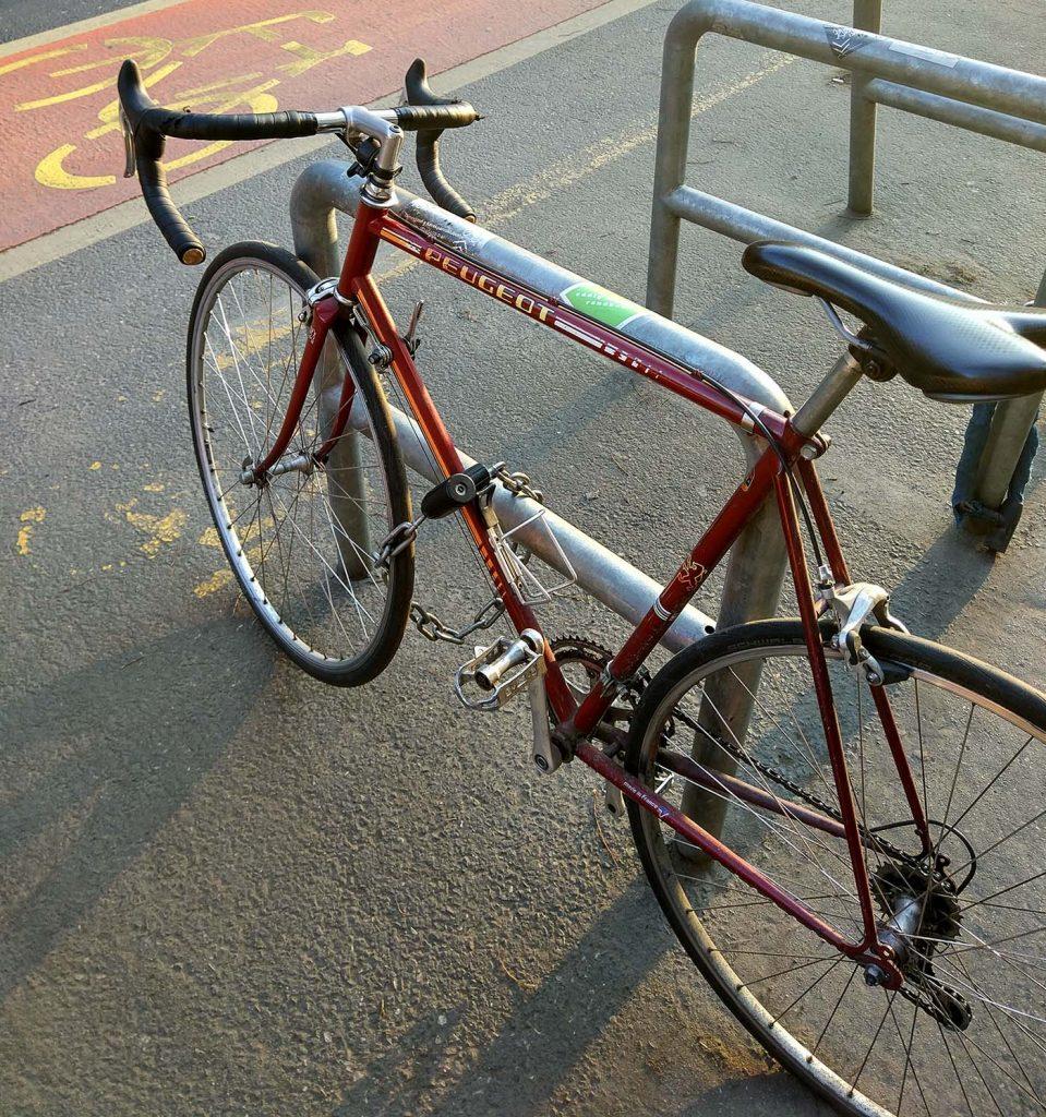 велосипед пежо в будапеште