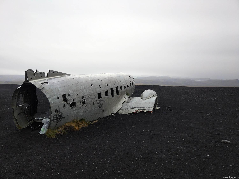 останки самолёта в исландии