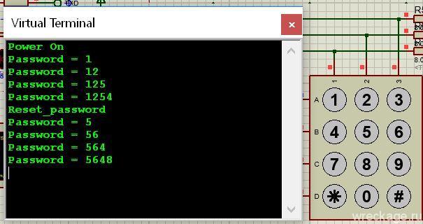 Контроль доступа. Часть 4 — алгоритм ввода чисел с клавиатуры.