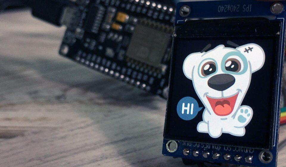 Дисплеи ST7735 и ST7789. Подключаем к ESP8266, выводим изображение без SD карты.