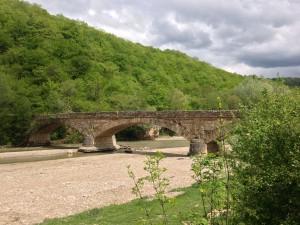 мост возле даховской