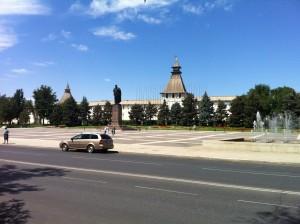 Астрахань Ленин