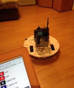 удалённый робот IPAD