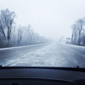 дорога зимняя в краснодар